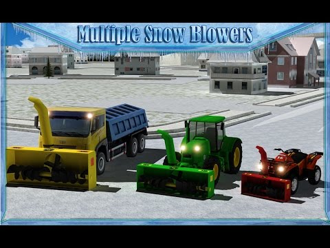 Snow Blower Truck Simulator 3D - Android Gameplay HD