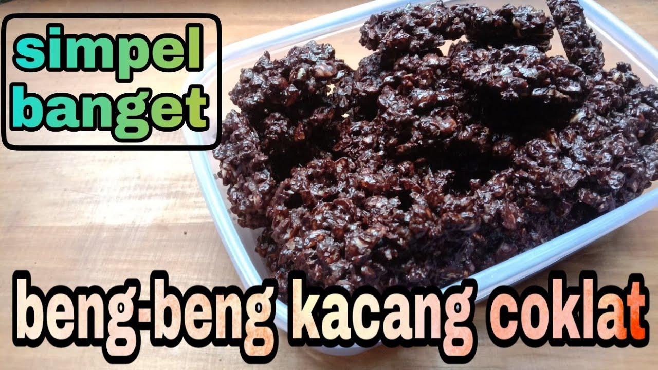 Cara Membuat Kue Kering Beng Beng Coklat Kacang
