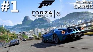 Forza Motorsport 6 (XONE gameplay 1/5) - Początek kariery | 60 fps