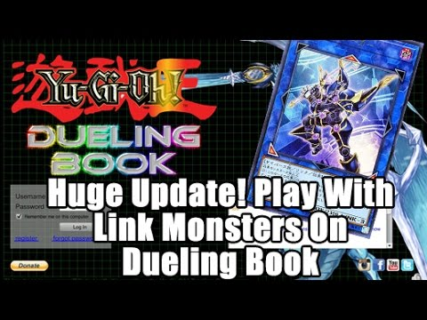 PLAY WITH LINK MONSTERS! Dueling Book Has LINK ZONES & LINK MONSTERS! Check it out!