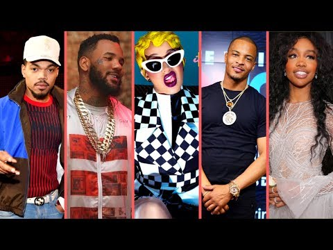 "Rappers React To Cardi B ""Invasion Of Privacy"" Album Reactions From (SZA Chance The Rapper T.I Game)"