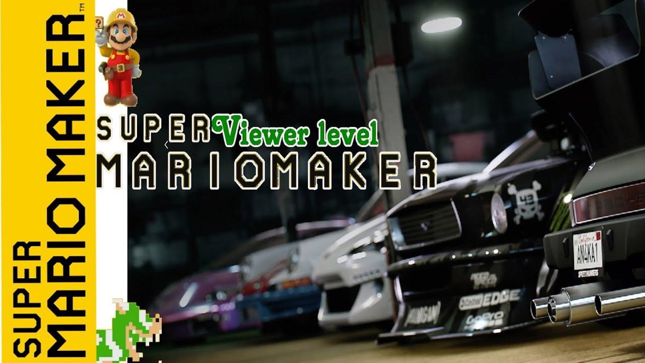 Super Mario Maker DreamTeam Viewer level YT 2020