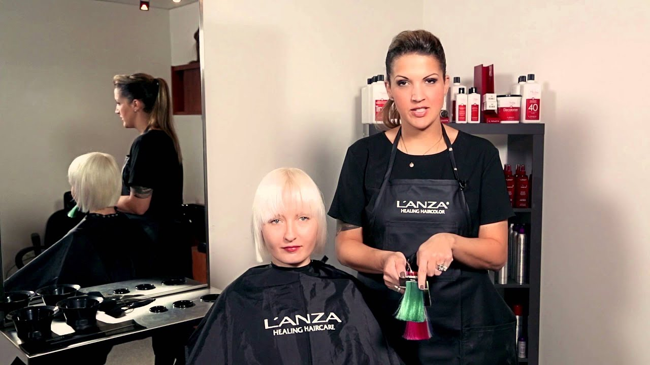 Lanza How To Vibes Color Consultation Youtube