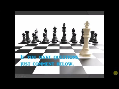How To Play Chess Tagalog Filipino Tutorial