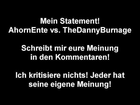 Statement/Meinung zu AhornEnte vs. TheDannyBurnage | domekato