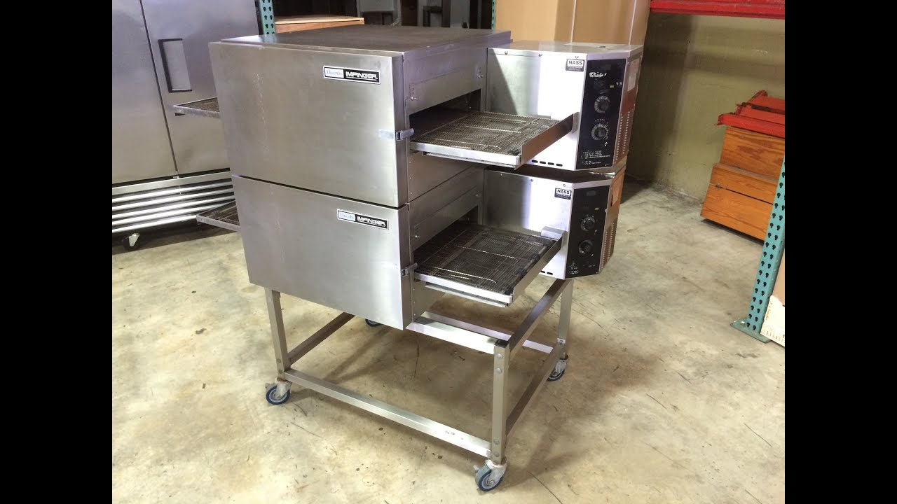 conveyor lincoln restaurant northern equipment oven impinger used