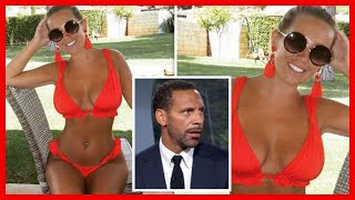 Rio Ferdinand girlfriend: Kate Wright wins over World Cup pundit with eye-popping snap