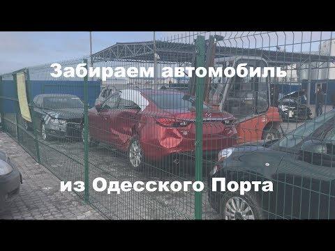 Забираем авто из Одесского Порта. Евротерминал
