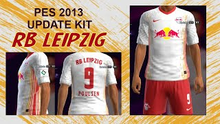 Pes 2013 Kit Rb Leipzig Home 2020 2021 Youtube