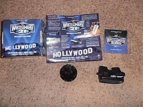 The WWE Wrestlemania 21 Recall Set WTF Is This Thing??