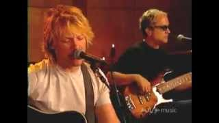 Bon Jovi - Wanted Dead Or Alive Unplugged (aol sessions)