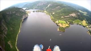 acro nm bygland 2013 paraglider