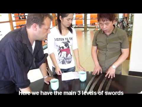 Interview with a Sword Forge making swords in China