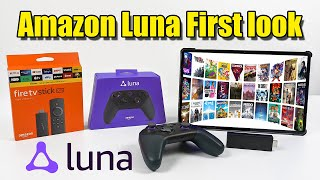 Amazon Luna Cloud Gaming First Look And Test - Thi
