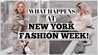 NY Fashion Week Vlog! My Launch Party, Front Row, and Photoshoots!