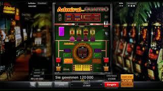 Admiral Quattro kostenlos spielen - Novomatic / Eurocoin