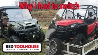 Why we had to switch from Polaris Ranger to Honda Pioneer
