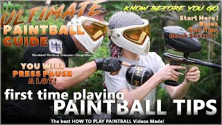 First Time Playing Paintball Tips The Ultimate Beginner Guide by DangerMan