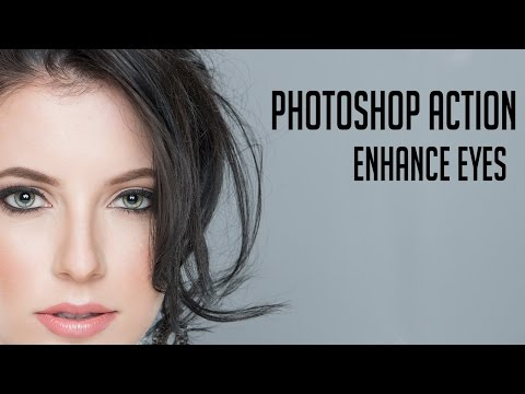 Eye Enhancing Photoshop Action Tutorial [Download]