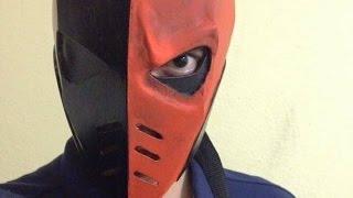 Casco de Deathstroke, 100% cartón l DIY Deathstroke helmet
