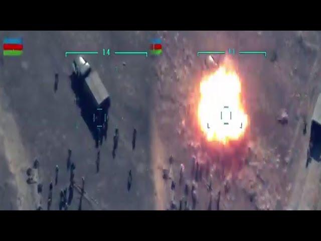 Azerbaycan Ordusunun Ermeni Askerlerini SİHA'lar ile Vurma Görüntüleri -  YouTube