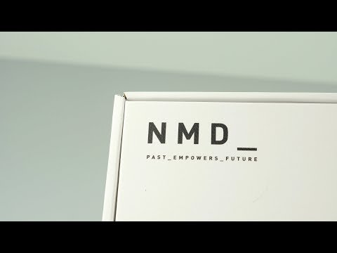 EXCLUSIVE adidas Boost NMD Sneaker UNBOXING