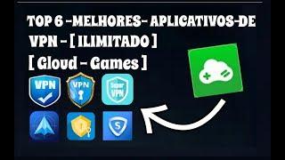 Top 6 Melhores Aplicativos de VPN Ilimitado [Gloud Games]