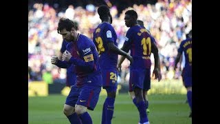 Barcelona vs Athletic Club [2-0], La Liga, 2018 - Match Review