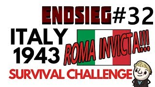 HoI4 - Endsieg - 1943 WW2 Italy - #32 ROMAN EMPIRE! BUT Disaster at Gibraltar!!