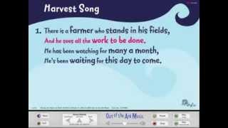 Harvest Song - Words on Screen™ Original