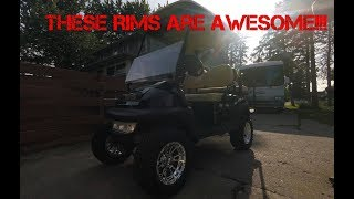 Sweet Club Car review! These Rims Though!!!