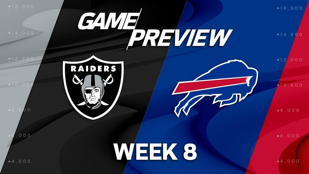 Oakland Raiders vs. Buffalo Bills  98616940d1a7