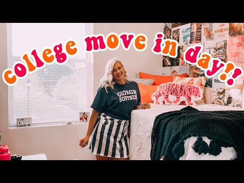 COLLEGE MOVE IN VLOG | Georgia Southern University