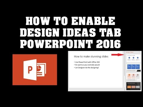 How to turn off design ideas in powerpoint 2020