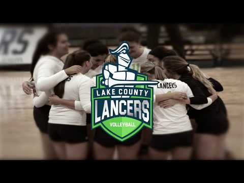 Lancers Women's Volleyball | Game Recap Vs  McHenry County College | Fall 2017