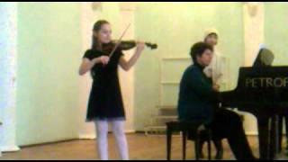 В.А.Моцарт Рондо в турецком стиле-Боррего Ивет