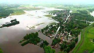 Inondations :  les naufragés de la rue des Plantes à Chécy dans le Loiret (juin 2016)