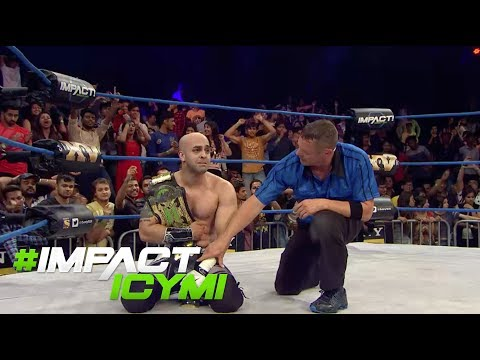 Sonjay Dutt WINS THE X-DIVISION TITLE | #IMPACTICYMI June 15th, 2017