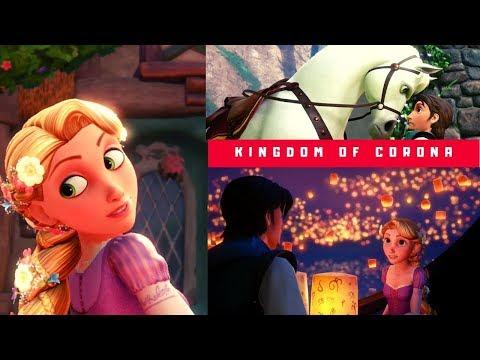 RAPUNZEL | Kingdom Of Corona | Full Movie Game HD | Kingdom Hearts 3 All Cutscenes | Goofy Donald