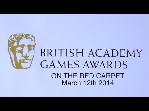 BAFTA Games Awards 2014 On The Red Carpet