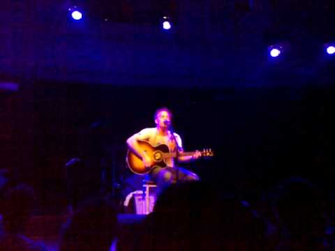 Marc Broussard sings for his son Gibb @Paradiso