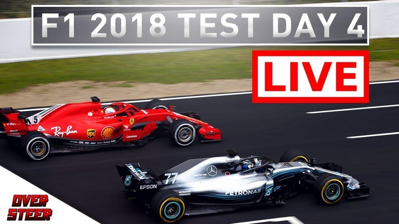 f1 2018 test day 4 live formula 1 2018 testing live. Black Bedroom Furniture Sets. Home Design Ideas