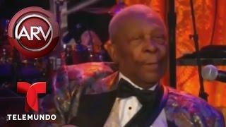 Murió BB King, el cantante conocido como el rey del blues | Al Rojo Vivo | Telemundo