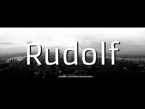 How to pronounce Rudolf Carnap in German