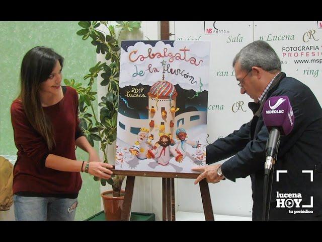 Vídeo: Elección del Cartel anunciador de la Cabalgata de la Ilusión 2017