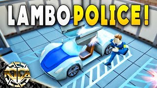 LAMBO POLICE : High Tech Headquarters to Protect and Serve : Rescue HQ