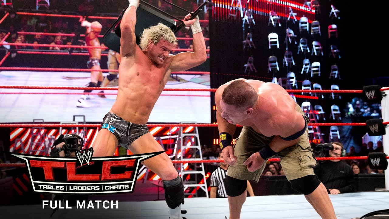Download FULL MATCH - John Cena vs. Dolph Ziggler – Ladder Match: WWE TLC 2012
