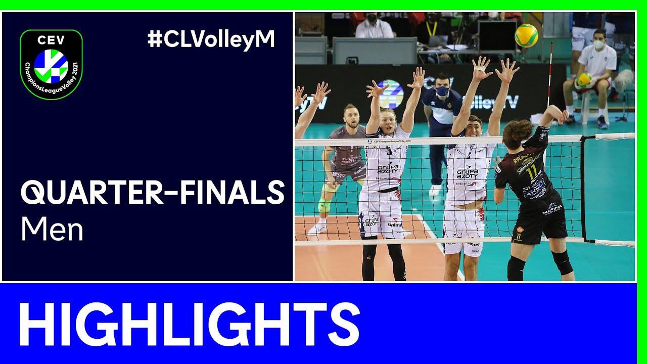 Cucine Lube CIVITANOVA vs. Grupa Azoty KĘDZIERZYN KOŹLE Highlights - #CLVolleyM