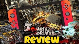 Zombie Driver Immortal Edition Nintendo Switch Review | Gameplay (Video Game Video Review)