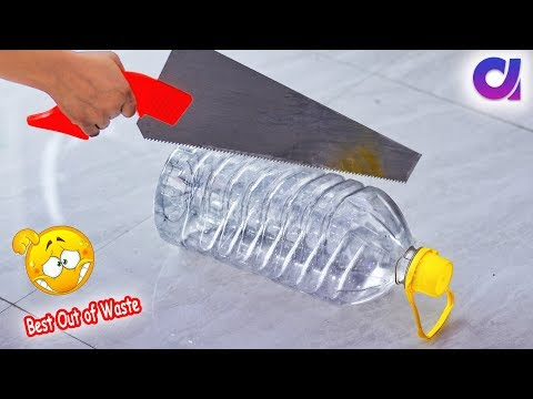 Best Out Of Waste From Plastic Bottle Crafts # diy arts & crafts | Artkala 418